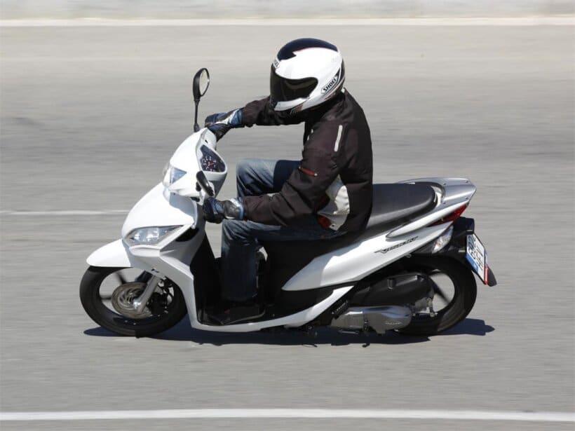 scooters mas vendidos españa 2013 honda vision 110