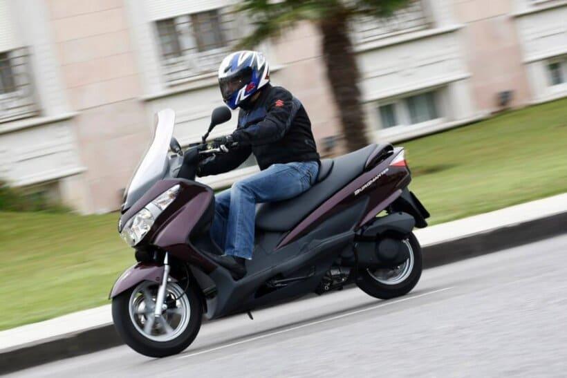 scooters mas vendidos españa 2013 suzuki burgman 125