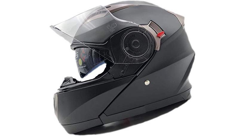 tipos cascos moto abatible