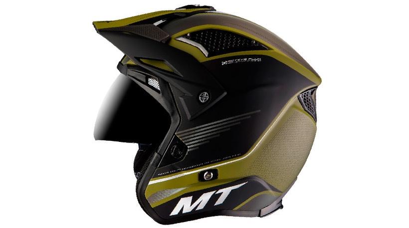tipos cascos moto trial