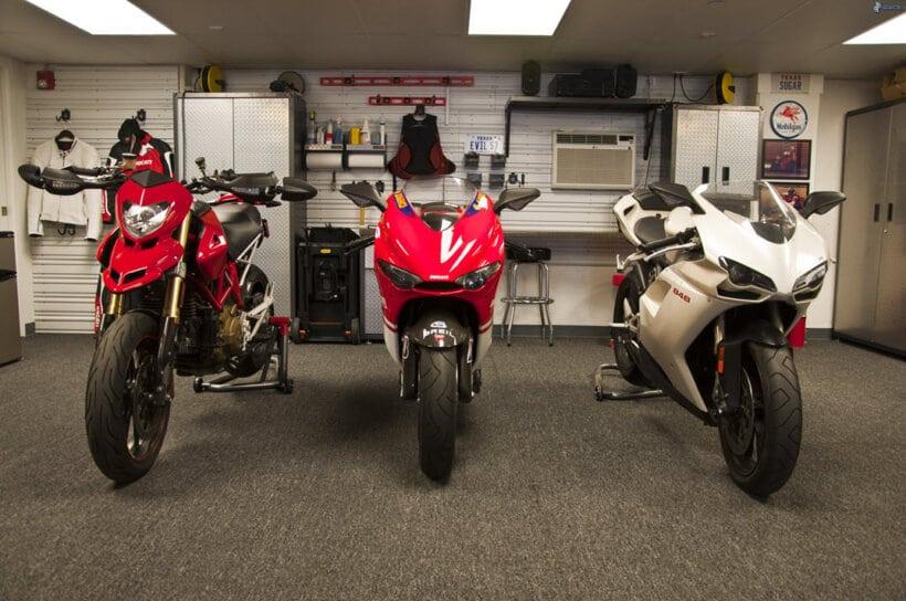 consejos para evitar robo moto guardar en garaje
