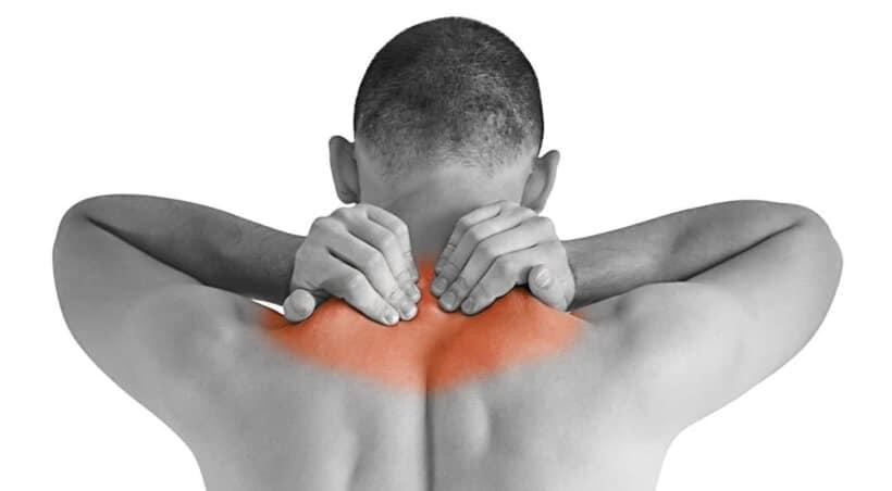 lesiones frecuentes accidente moto cuello espalda