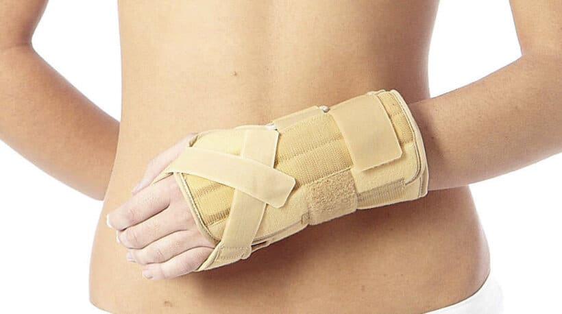 lesiones frecuentes accidente moto fractura brazo
