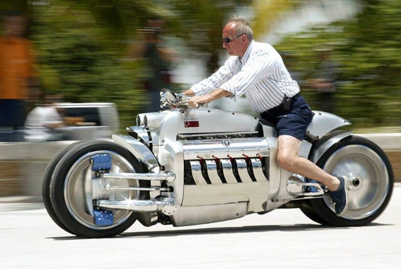 motos raras dodge tomahawk