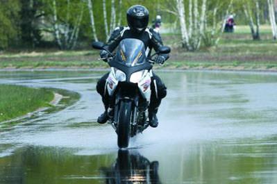 equipamiento motorista lluvia