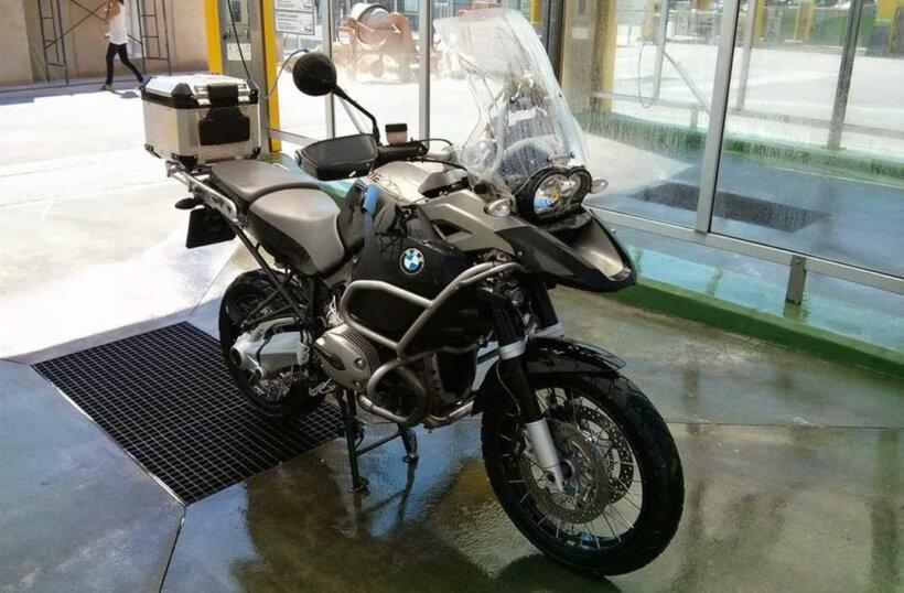 limpieza moto en frio