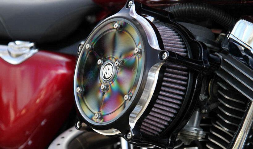 mantenimiento moto filtro de aire