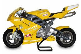 tipos de motos minimoto