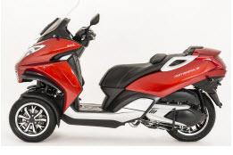 tipos de motos triciclo