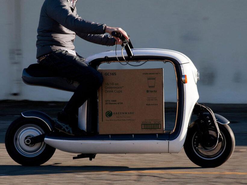ventajas moto electrica mas espacio