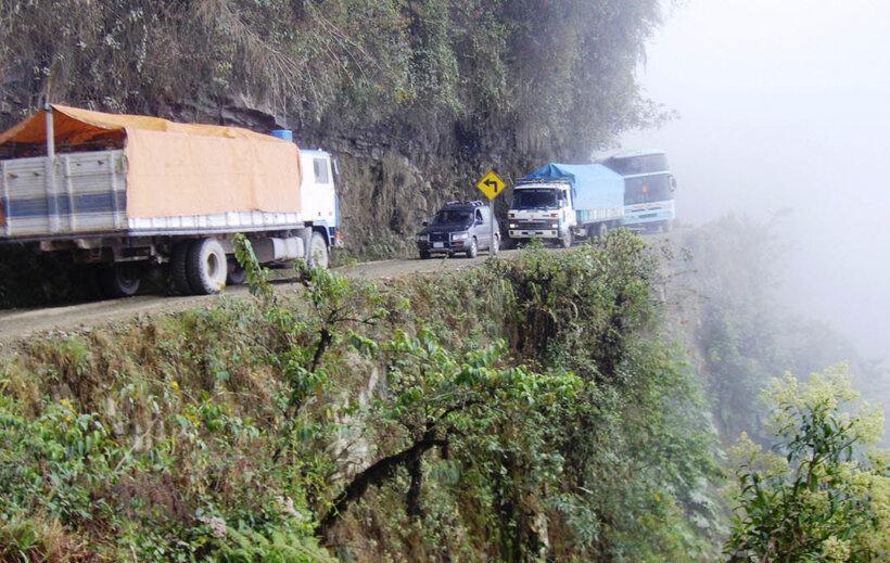 mejores carreteras mundo moto camino de la muerte bolivia