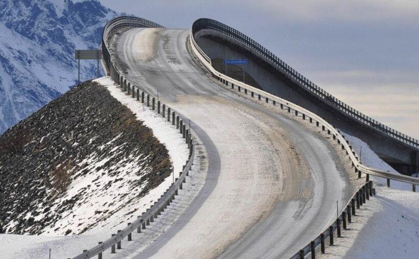 mejores carreteras mundo moto carretera atlantico noruega