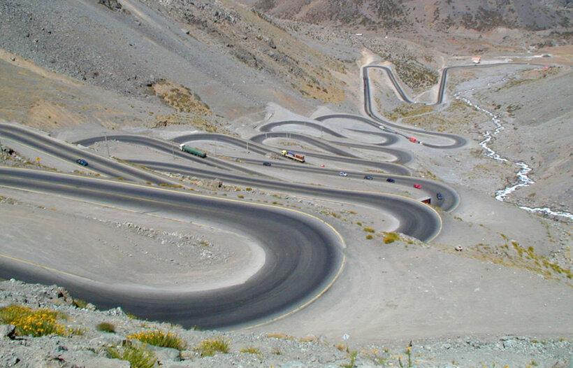 mejores carreteras mundo moto paso libertadores chile argentina