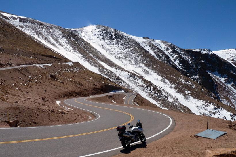 mejores carreteras mundo moto pikes peak estados unidos