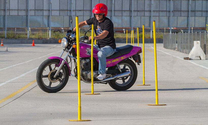 como sacarse carnet de moto pruebas circuito cerrado