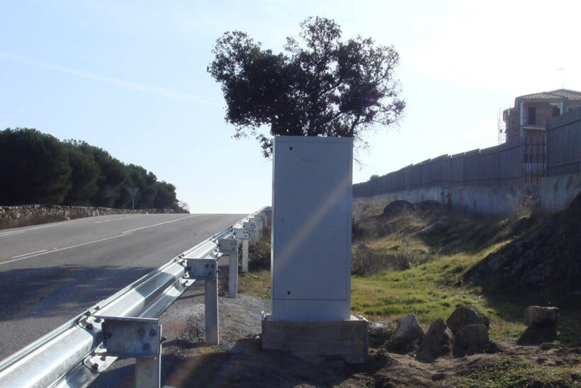 radares trafico falsos cabinas