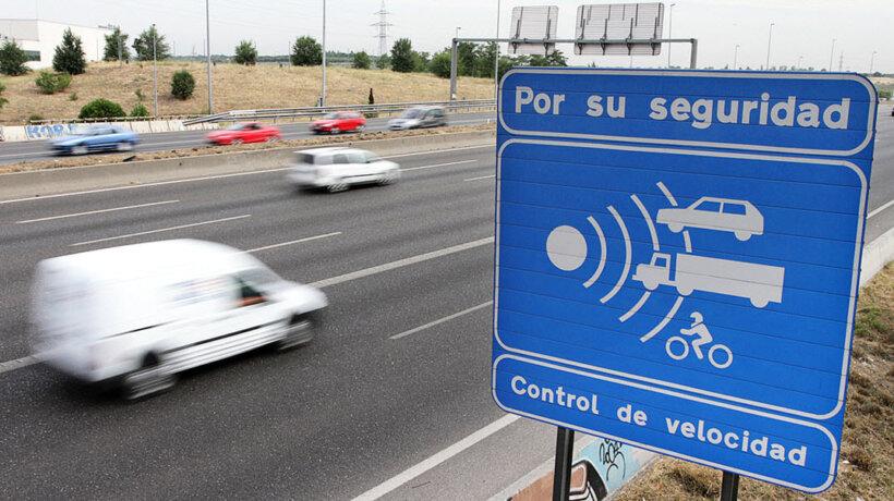 radares trafico multa