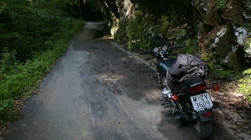 ruta moto camino de santiago