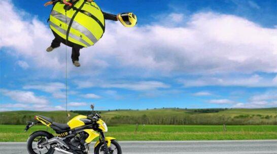 chaqueta airbag motorista moto