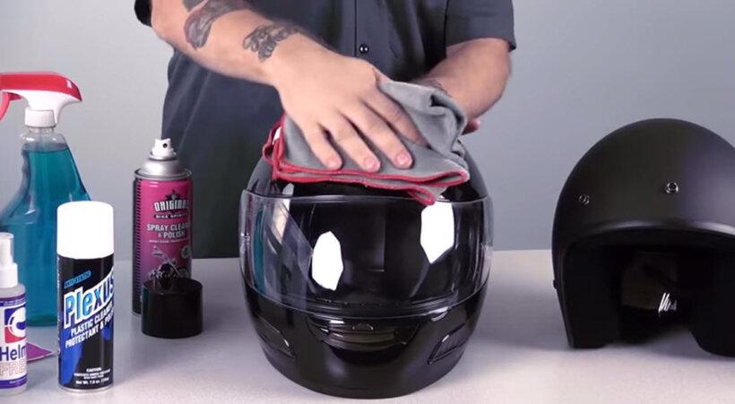 consejos limpiar casco exterior