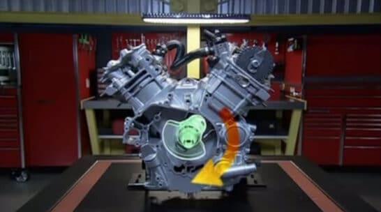 como funciona motor cuatro tiempos