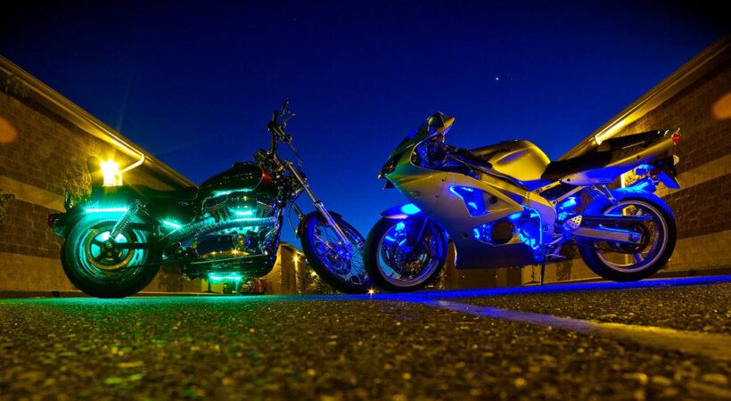 consejos aumentar visibilidad moto luces
