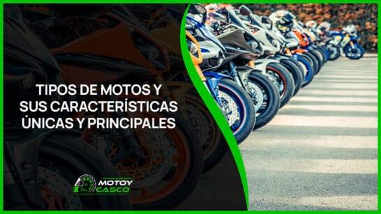 tipos de motos motocicletas caracteristicas
