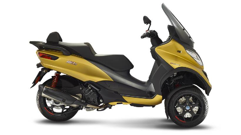 motos de tres ruedas carnet de coche modelos precios piaggio 500 sport advanced