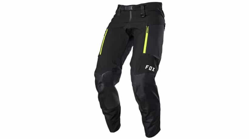 mejores pantalones moto invierno hombre fox legion downpour