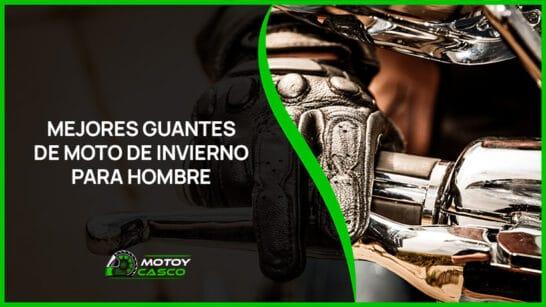 mejores guantes moto invierno hombre accesorios masculinos motorista