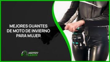 mejores guantes moto invierno mujer accesorios femeninos motorista
